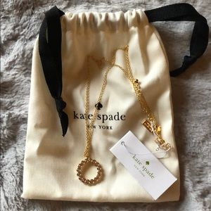 Kate spade necklace ♠️